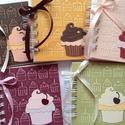 Muffinreceptek - cukrásztanulók ballagására - sütő-főző versenyre, Naptár, képeslap, album, Konyhafelszerelés, Jegyzetfüzet, napló, Receptfüzet, Papírművészet, A különleges, egyedi receptjeidet gyűjtheted össze a receptkönyvben, melyben az elkészült muffinok ..., Meska