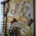 Egyedi emlékmegőrző - Boldog születésnapot! - album - születésnap - apa - örök emlék - egyedi ajándék, Otthon & lakás, Naptár, képeslap, album, Jegyzetfüzet, napló, Fotóalbum, Barátok, családtagok, munkatársak részére lehet jókívánságokat írni a naplóba.  .....vagy barátok, c..., Meska