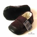 Pántos kord fiúcipő, Kord cipő kicsi fiúknak utazáshoz, otthonra, ü...