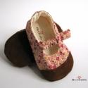 Kiviragzott cipő bőr talppal - lefoglalva, jadan részére készült ez a kivirágzott cipő ...