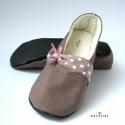 Pöttyös cipő felnőtt méretben, Gigiart részére készítettem ez a felnőtt mér...