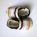 Uniszex csíkos cipő, Lányoknak vagy fiúknak egyaránt hordható ez az...