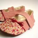 Virágos cipők és tok Enid részére, Enid megrendelésére készültek ezek a termékek...