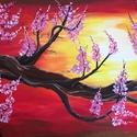 Egyedi Akril festmény, Képzőművészet, Festmény, Akril, Festészet, Egyedi akril festmény (A képen láthatóhoz képest lehetnek eltérések. A készülő festmény domináns sz..., Meska