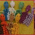 horgolt polip, Baba-mama-gyerek, Játék, Készségfejlesztő játék, Baba játék, un. amigurumi: horgolt polip mosható vatelin töltettel hosszú csápjai a kis gyerekkezek kedvenc ..., Meska