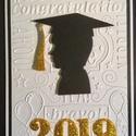 Diplomaosztó, ballagás,végzős  üdvözlőlap, pénzátadó, képeslap