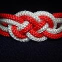 PP Piros karkötő, Ékszer, óra, Ruha, divat, cipő, Karkötő, , Meska