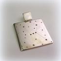 Ezüst Orion csillagkép medál, Ékszer, Képzőművészet, Medál, Nyaklánc, 2,5 cm magas 925-ös ezüstből készül  Más csillagképpel is lehet kérni!, Meska