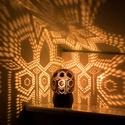 minimoodie home - Exotic Adventure edition, Otthon, lakberendezés, Lámpa, Hangulatlámpa, Mindenmás, Különleges mintájú, egyedi kézműves hangulatlámpa, amely gombnyomásra csodás fényeket fest a nappal..., Meska