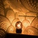 minimoodie home - Orient Express edition, Otthon, lakberendezés, Lámpa, Hangulatlámpa, Mindenmás, Különleges mintájú, egyedi kézműves hangulatlámpa, amely gombnyomásra csodás fényeket fest a nappal..., Meska
