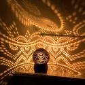 minimoodie home - Inner Peace edition, Otthon, lakberendezés, Lámpa, Hangulatlámpa, Mindenmás, Különleges mintájú, egyedi kézműves hangulatlámpa, amely gombnyomásra csodás fényeket fest a nappal..., Meska