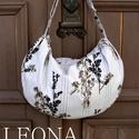 LEONA válltáska szabásminta PDF, Táska, A Leona táska egy nagyméretű, divatos, sok célra használható táska. Arányos, formás méretezése miatt..., Meska