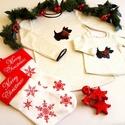 Scottie kutyás karácsonyi pulóver szett, Ruha, divat, cipő, Gyerekruha, Baba (0-1év), Gyerek (4-10 év), Varrás, Karácsonyi Scottie kutya mintás pulóver szett, melynek belső része bolyhos meleg, de az anyag nem t..., Meska