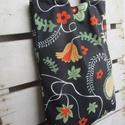 Őszi indás szatyor, Táska, Válltáska, oldaltáska, Szatyor, Őszi színekben pompázó egyszerű, könnyű szatyor erős vászonból. Mérete: 30x40 cm. , Meska