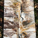 'Földrengés' fluid art akril festmény , Művészet, Festmény, Akril, Festészet, Barna-fekete-fehér-bézs színű fluid art akril festmény, igazi absztrakt. Tökéletesen feldob minden ..., Meska
