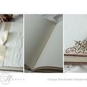 Esküvői vendégkönyv - fényképalbum , Esküvő, Otthon, lakberendezés, Nászajándék, Esküvői dekoráció, Decoupage, transzfer és szalvétatechnika, Könyvkötés, 21x25cm  50lap-100oldal (180g-os papírból) Kreatív papírból saját kézzel fűzve - kézi kötés teljes ..., Meska