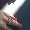 9 csiga gyűrű, Ékszer, Gyűrű, Kilenc kis csiga 1,5x 1,5cm-en,báránybodoriba gyűrűzve. Legkedvesebb gyűrűim egyike. Habár ebből töb..., Meska