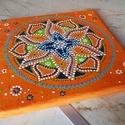 """""""Küldetésed a jóság"""" mandala, A kiválasztott egyedi, kézzel festett mandalád:..."""