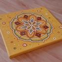 """""""Az a te utad, amerre örömmel mész"""" mandala, A kiválasztott egyedi, kézzel festett mandalád:..."""