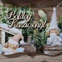 Karácsonyi üdvözlőtáblák, Dekoráció, Ünnepi dekoráció, Karácsonyi, adventi apróságok, Karácsonyi dekoráció, Üdvözlőtáblák karácsonyra  Különböző, bájos mintákkal  Köszönöm, hogy benéztél! :), Meska