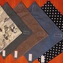 Pöttyös újraszalvéta,textilszalvéta tízórai,uzsonna csomagolására, Pöttyös zero waste ujraszalvéta, textilszalvét...