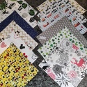 választható  mintás  újraszalvéta,textilszalvéta tízórai,uzsonna csomagolására, Választható mintás    zero waste ujraszalvéta,...
