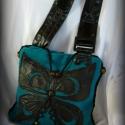 Türkiz pillangós táska, LEFOGLALVA millia részére!!!! Ha nem te vagy az,...