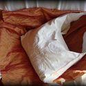 Hófehér csipkés táska, Ez a táska egyedi darab, teljesen ugyanilyen nem ...