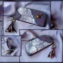 Kicsi Kék-rózsás pénztárca, LEFOGLALVA Nia007-részére!!!  Elkészült A Kék...