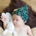 Horgolt baba , újszülött  sapka fotózásra 0-2 hó, Baba-mama-gyerek, Ruha, divat, cipő, Kendő, sál, sapka, kesztyű, Sapka, Horgolás,  Kézzel horgolt   baba  sapka     Fotózásra,vagy ajándéknak is kiváló    Mérete : 35-38cm- es fejmé..., Meska