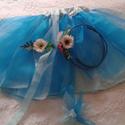 Virágtündér jelmez, Játék, Türkiz színű virágtündér jelmez szett, melyet megrendelésre készítünk. A rendelést követ..., Meska