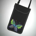 Telefontok 3D lepkés XL mobiltartó állítható pántos 2in1 mobiltok pillangós  , Egyedi, igényesen elkészített mobiltartó, tele...