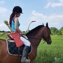 Török tegez domborított Oszmán motívummal (lapos tegez), Férfiaknak, Hagyományőrző ajándékok, Horgászat, vadászat, Ezzel a tegezzel a lovasíjász sport szerelmeseinek szeretnénk kedveskedni. Természetesen nem csak lo..., Meska