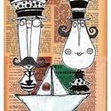 Bajusz Őr Pár, Illusztráció, Print, saját grafikámról, A4, Képzőművészet, Otthon, lakberendezés, Grafika, Illusztráció, Festészet, LIMITÁLT számú digitális reprodukció saját grafikámról, melyből mindössze 120 db nyomat készült.  F..., Meska