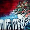 Modern zongora festmény, Képzőművészet, Festmény, Akril, Festészet, Modern stílusú zongora akril festmény, keretezett, 43x32 cm vásznon.  K.Beatrix, Meska
