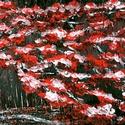 Álmodni, nagyot .... , Képzőművészet, Festmény, Akril, Festészet, 43 x 21 cm-es OSB lap, akril, festőkés. Címkék: festmény, akril, hangulatkép   Akril festékkel kész..., Meska