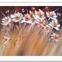 Pasztell - mezős , Képzőművészet, Festmény, Akril, Festészet, 50 x 40 cm-es felületkezelt farost, akril festés ecset, festőkés használatával. Címkék: festmény, a..., Meska