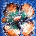 A Föld virága , Képzőművészet, Festmény, Akril, 43 x 47 cm-es faroston  akril festés, festőkés eszköz használattal :) , így érdekes textúrá..., Meska