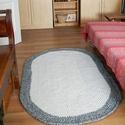Horgolt   szőnyeg , Otthon, lakberendezés, Lakástextil, Szőnyeg, Horgolás, Különleges, makaróni fonalból horgolt szőnyeg.  mérete 102  cm x 180 cm   1  cm vastag puha, rugalm..., Meska