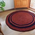 Horgolt  kerek szőnyeg