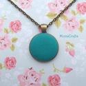 KIFUTÓ TERMÉK! Turquoise - türkiz - antik bronz nyaklánc, Kifutó termékeim most utoljára kaphatók a Mesk...