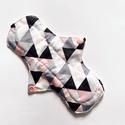 Mosható eü betét, menstruációs betét,normál, rózsaszín háromszöges, Ezzel a mosható, újrahasználható betéttel lec...