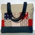 CITY BAG: Sailor 3. , Táska, Mindenmás, Ruha, divat, cipő, Neszesszer, Varrás, KÉSZLETEN! :)  Kedvenc városba járós,rohangálós táskáim többsége ilyen, ők adták az ihletet: igazi ..., Meska