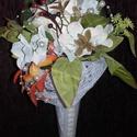 Koszorúslányoknak csokor, Esküvő, Esküvői csokor, Esküvői dekoráció, Virágkötés, Mindenmás, Kapd el a dobócsokrot! - Te leszel a következő! Az esküvői babonák előszeretettel foglalkoznak azza..., Meska