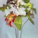 Dobócsokor , Esküvő, Esküvői csokor, Esküvői dekoráció, Virágkötés, Mindenmás, Kapd el a dobócsokrot! - Te leszel a következő! Az esküvői babonák előszeretettel foglalkoznak azza..., Meska