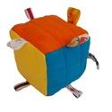 """Színes,""""Rubik""""kocka jellegű készségfejlesztő babakocka, Játék, Gyereknap, Baba játék, Készségfejlesztő játék, Egyedi aprólékos munkával készült élénk vidám,színes,pihe-puha minőségi anyagú  babakocka.Mindegyik ..., Meska"""