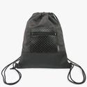Gym-bag 01 női hátizsák, Táska, Hátizsák, Fekete textilbőrt és nagyon puha, jó tapintású, ám erős bútorszövetet kombináltam össze ehhez a tásk..., Meska