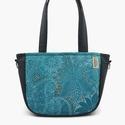 City-bag 50 türkiz női táska