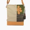 Cross-Bag 62 átalakítható női táska hátizsák, Táska, Válltáska, oldaltáska, Hátizsák, Ez a táska a Monimi Country kollekció központi darabja! A kukoricatábla, a zöldes mező, a felszántot..., Meska