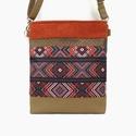 Cross-Bag 60 átalakítható női táska hátizsák, Táska, Válltáska, oldaltáska, Hátizsák, Ősszel a kötött anyagok fontos szerepet kapnak a ruhatárunkban. Gyönyörű őszi színekben pompázik ez ..., Meska